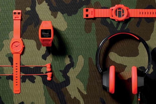 """Nixon 2012 Spring/Summer """"Orange Bang"""" Collection"""