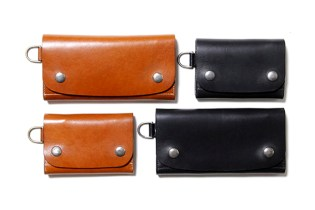 nonnative x Stevenson Overall Co. SHORT & LONG COW DWELLER LEATHER WALLET
