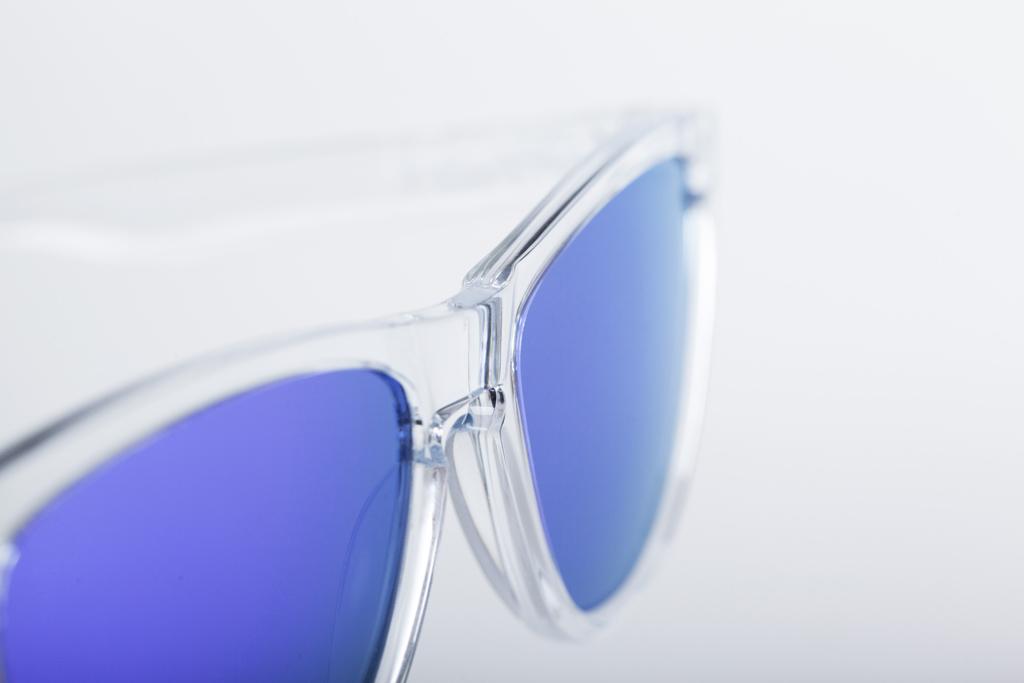 f64b886dfe Oakley Frogskin Polished Clear Sunglasses