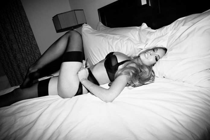 Lindsay Lohan by Olivier Zahm for L'Officiel Hommes