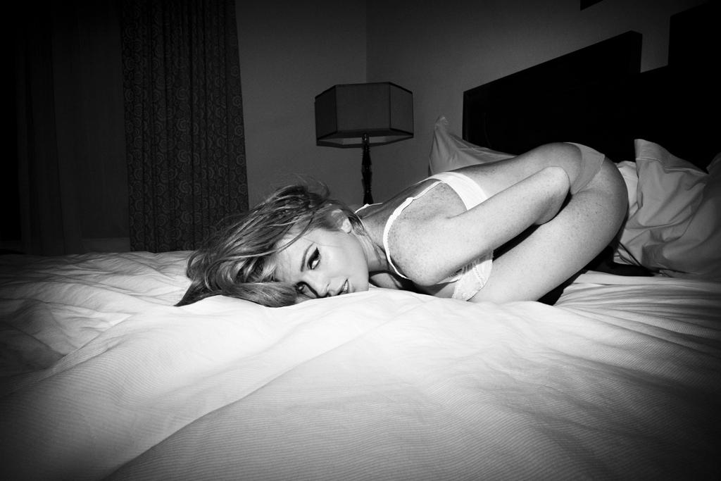 Lindsay Lohan by Olivier Zahm for L'Officiel Hommes