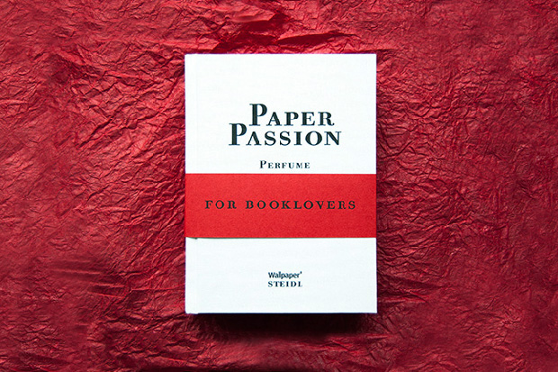 Paper Passion Perfume by Geza Schoen, Gerhard Steidl and Wallpaper* Magazine, with Packaging by Karl Lagerfeld