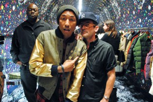 Pharrell and Mark McNairy Talk About Recent Collaboration