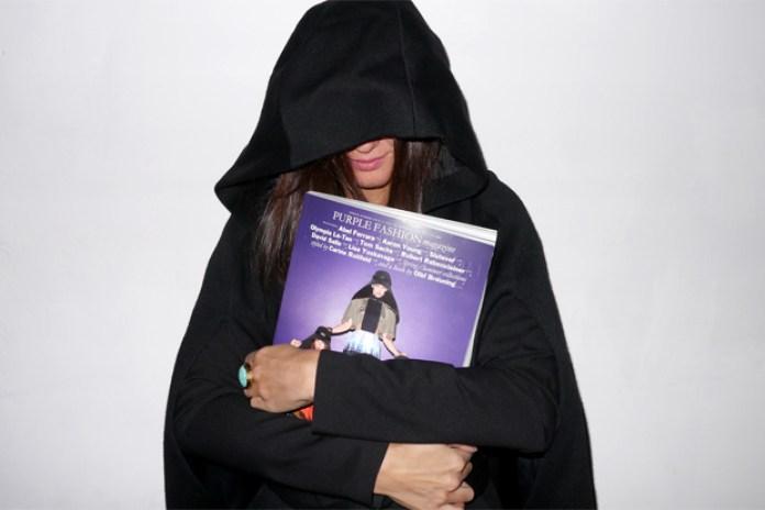 Purple Magazine Site Relaunch