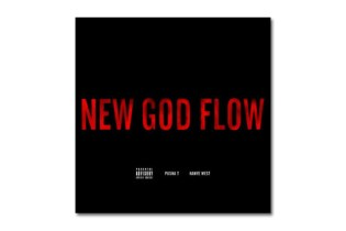 Pusha T featuring Kanye West - New God Flow | Artwork