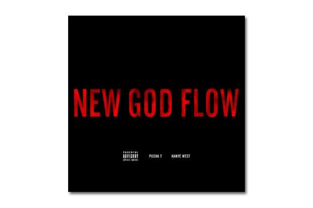 Pusha T featuring Kanye West - New God Flow | Artwork