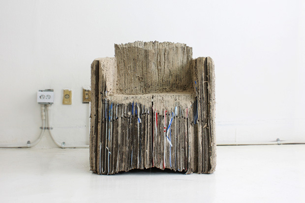 Reborn Cardboard Sofa by monocomplex design studio