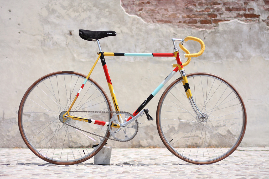 "Rik x Biascagne Cicli ""Forgood 2012"" Fixed Gear Bike"
