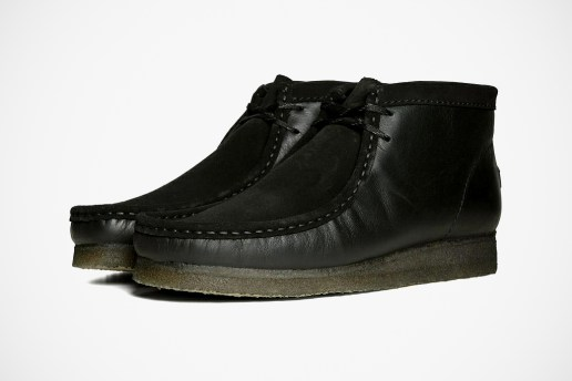 Rocky Mountain Featherbed x Clarks Originals Wallabee Black