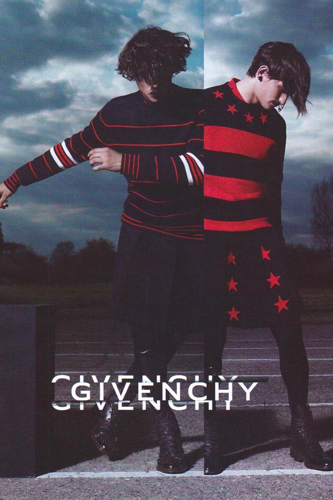Givenchy Ad Campaign with Rodrigo Braga & Simone Nobili