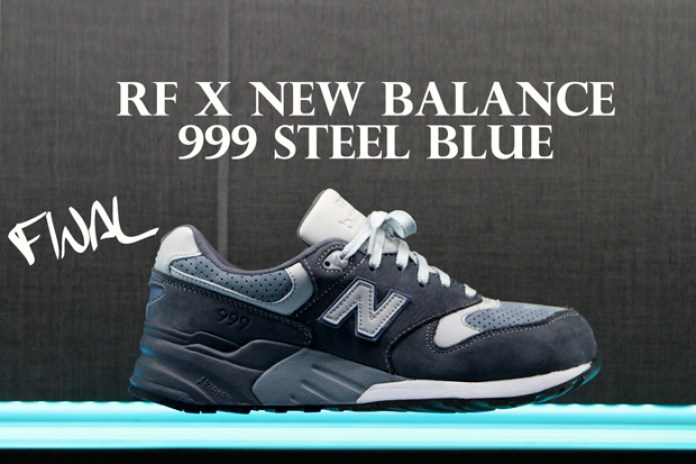 "Ronnie Fieg x New Balance 999 ""Steel Blue"" Sample Process"