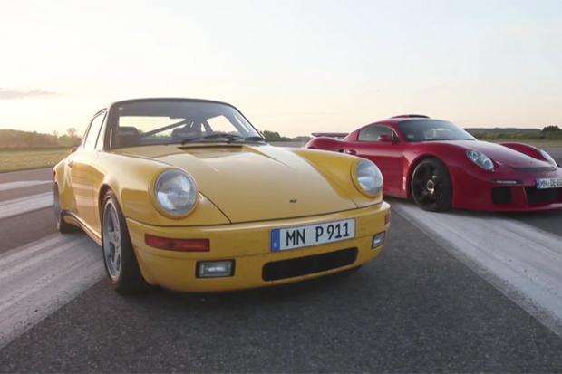 RUF's Legendary CTR Yellowbird Gets a 2012 Test Drive Alongside the CTR 3