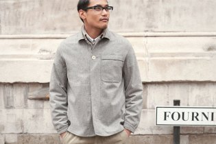 S.E.H Kelly Two-Button Neat Jacket