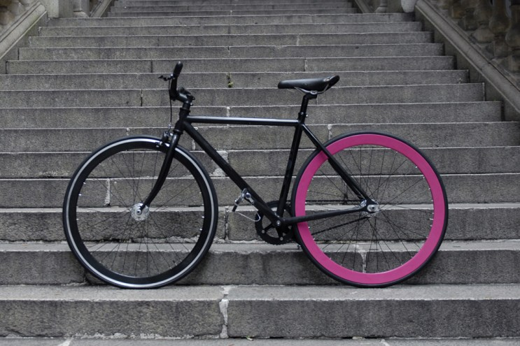 Shanghai Tang x Colossi Cycling Fixed-Gear Bicycles
