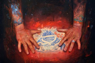 """Shawn Barber """"Memoir: The Tattooed Portraits Series"""" Exhibition @ Joshua Liner Gallery Preview"""