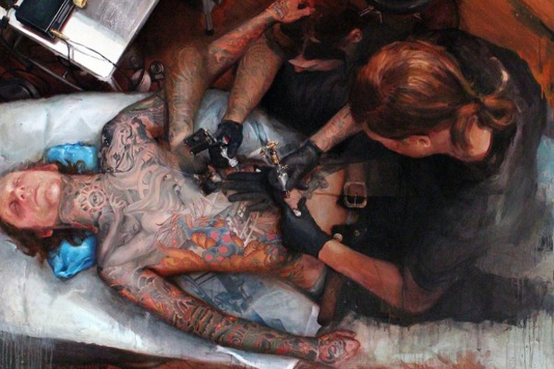 shawn barber memoir the tattooed portraits series exhibition joshua liner gallery preview