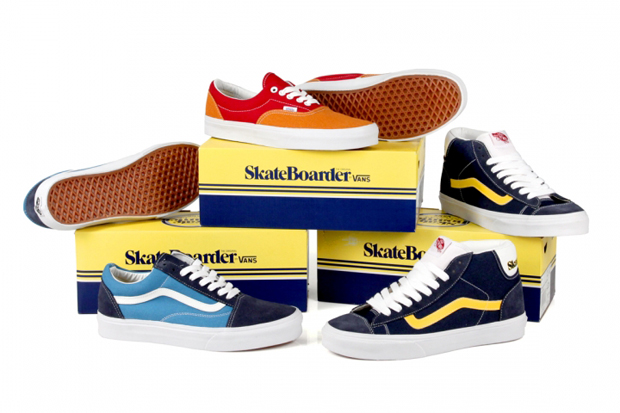 Skateboarder Magazine x Vans 2012 Collection