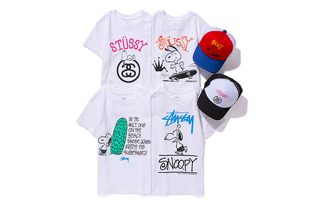 Stussy Kids x Peanuts 2012 Spring/Summer Capsule Collection #2