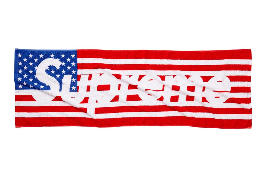 Supreme 2012 Spring/Summer Flag Towel