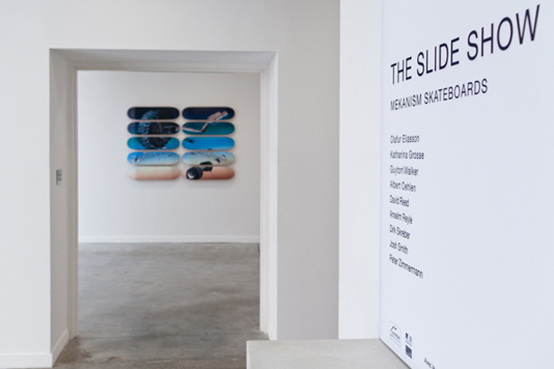 """The Slide Show"" Mekanism Retrospective Exhibition @ FRAC"