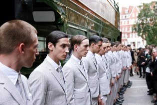 Thom Browne 2013 Spring/Summer Collection London Presentation