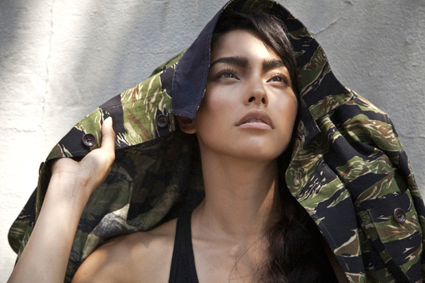 UNIS 2012 Spring/Summer Charlie Jacket featuring Adrianne Ho