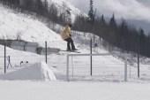 Urban Skiing in Russia Video