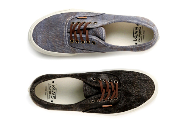 """Vans California 2012 Spring/Summer """"Stained"""" Authentic CA"""