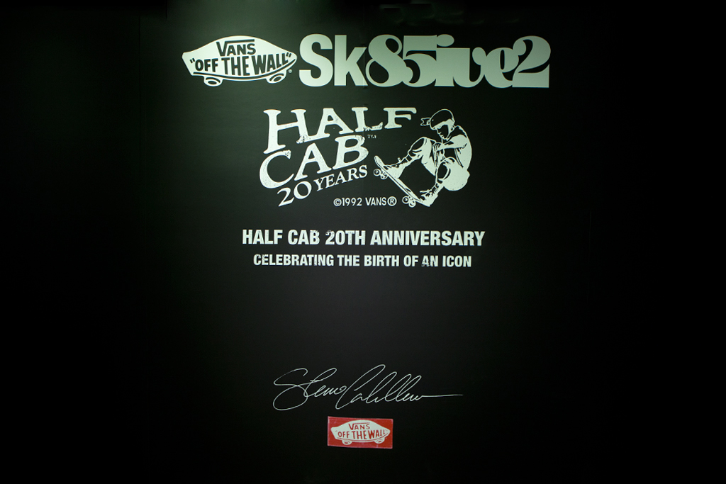 Vans Sk85ive2 Half Cab 20th Anniversary Recap