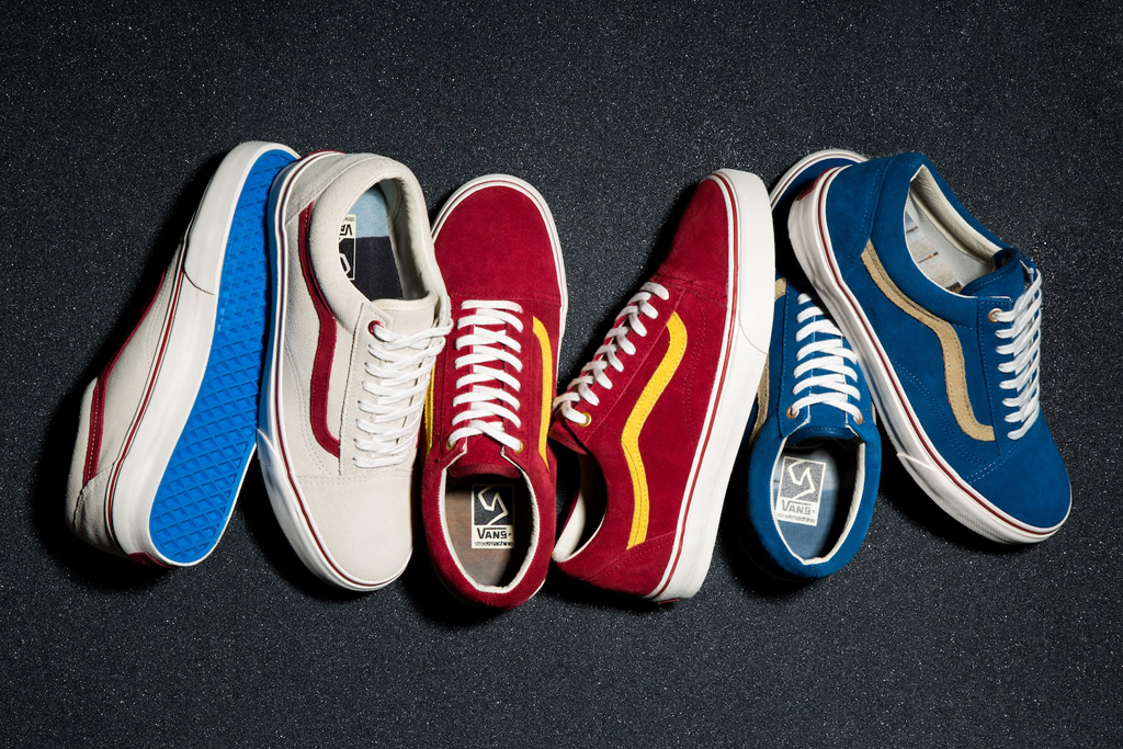 vans syndicate x streetmachine 2012 summer old skool pack
