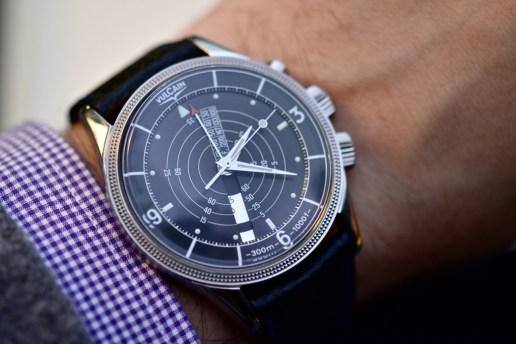Vulcain Nautical Heritage Alarm Watch