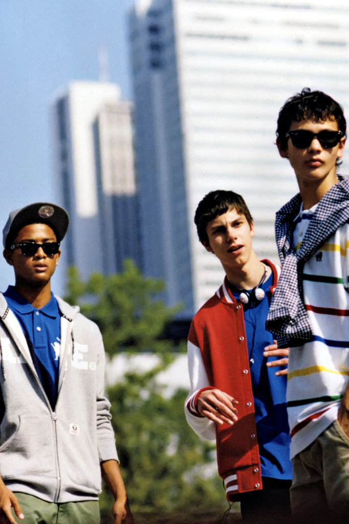 warp aape by a bathing ape 2012 springsummer collection editorial
