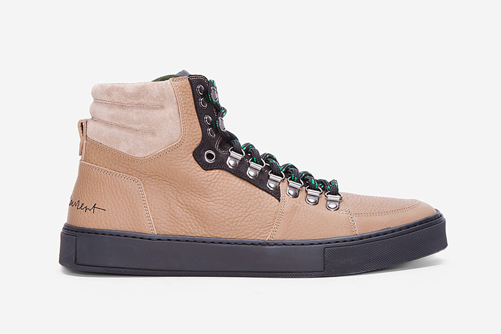Yves Saint Laurent Malibu Hiking Sneakers
