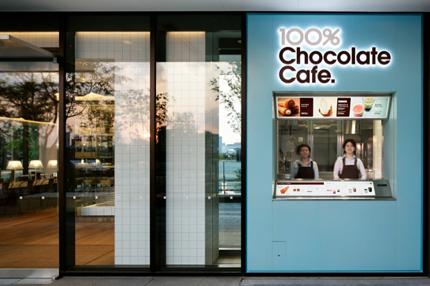 100 chocolate cafe by wonderwall
