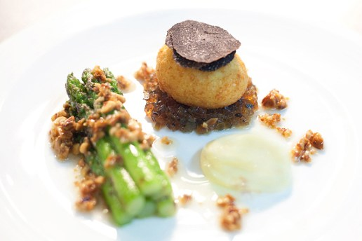 HYPEBEAST Eats… Chopped 21st Century Egg White and Truffle with Chargrilled Asparagus by Shane Osborn of ST BETTY