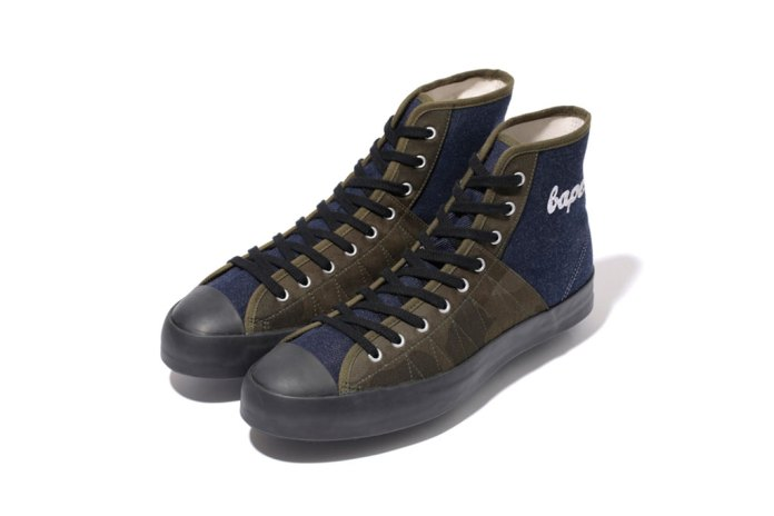 A Bathing Ape 2012 DENIM CLIMBING APE STA
