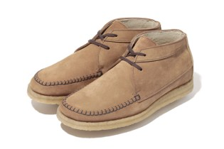A Bathing Ape 2012 Fall/Winter SUEDE MOCCASIN