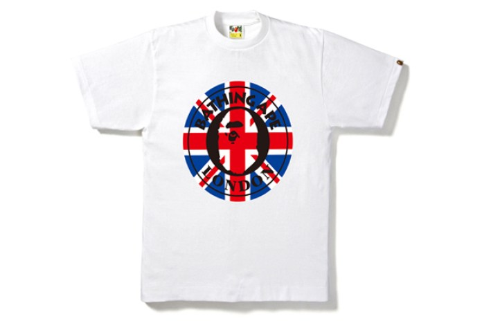 A Bathing Ape 2012 London Olympics T-Shirt Collection