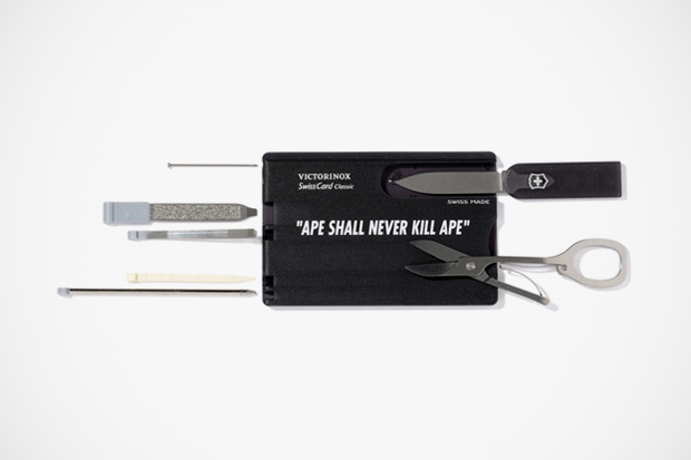 A Bathing Ape x Victorinox Card Multi-Tool Set