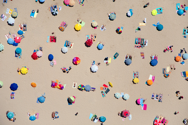 A La Plage by Gray Malin