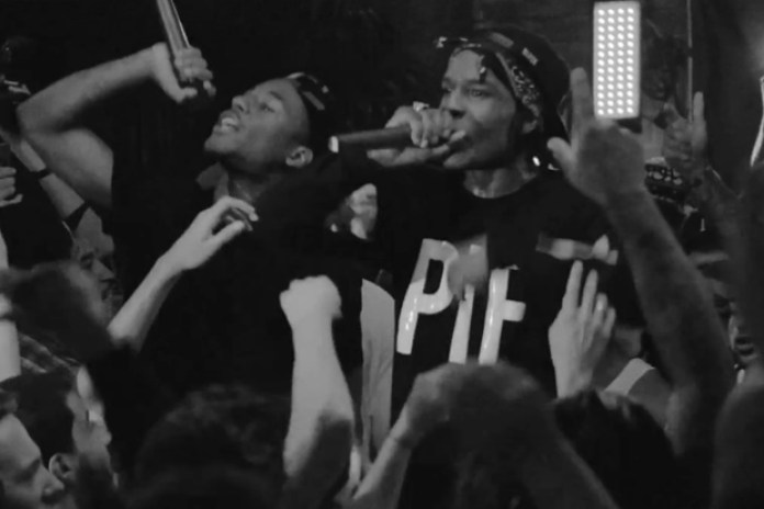 A$AP Mob featuring A$AP Rocky - Black Man/Coke and White Bitches (Live at the Bowery Hotel)