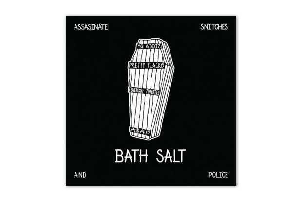 A$AP Rocky & A$AP MOB featuring Flatbush Zombies – Bath Salt