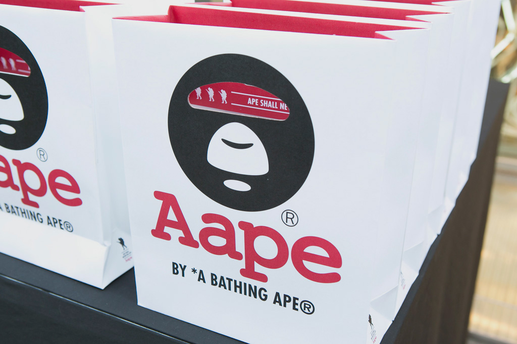 AAPE by A Bathing Ape Harajuku Store Opening Recap