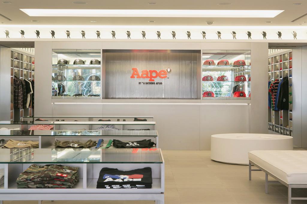 AAPE by A Bathing Ape Harajuku Store Opening Recap