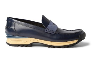 Acne Bernhard Rubber-Soled Leather Penny Loafer