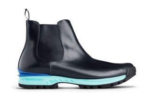 Acne Dark Blue Musil Boots