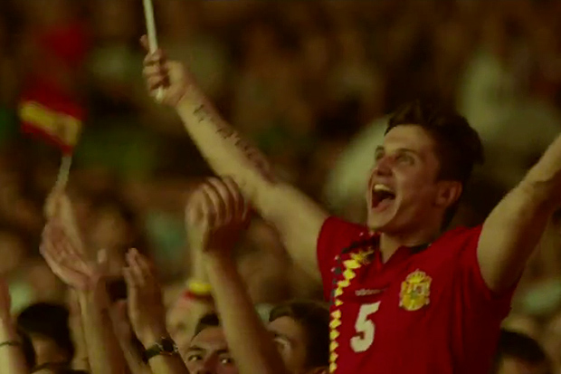 adidas Football: UEFA Euro 2012 Slow-Motion Fan Reactions