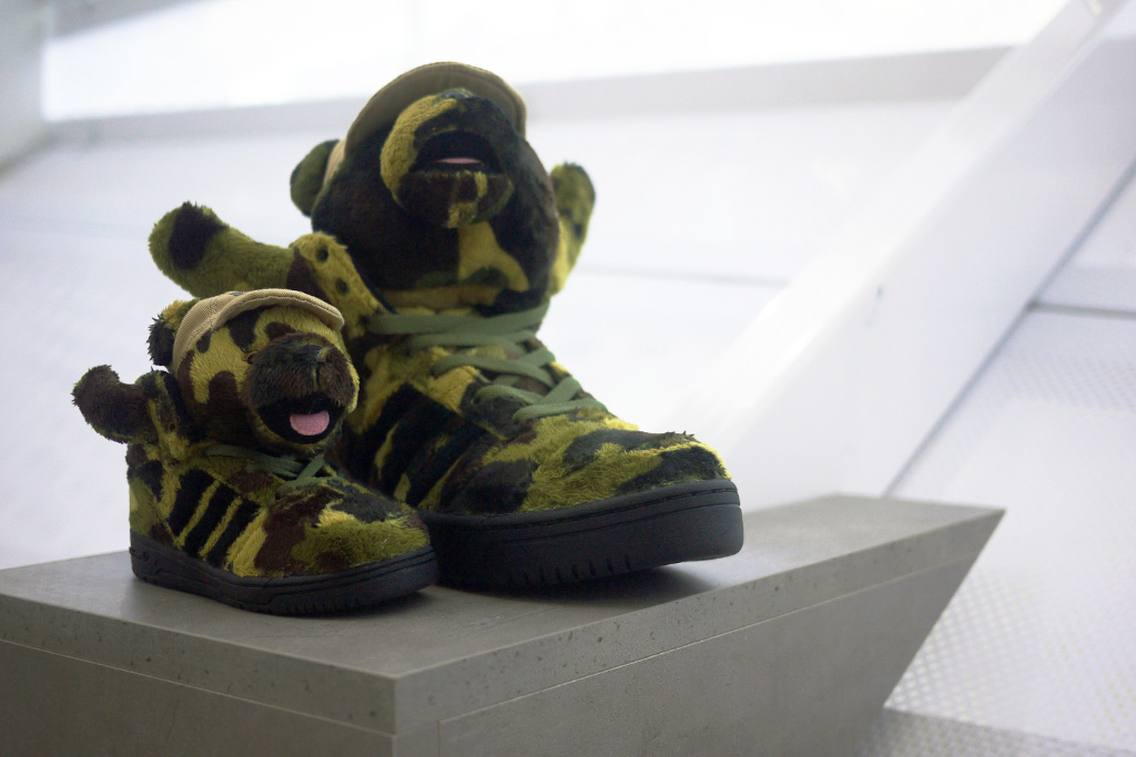 Bread & Butter: adidas Originals by Jeremy Scott 2013 Spring/Summer JS Bear Preview