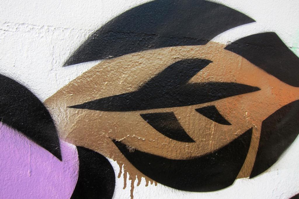 Aiko Nakagawa Mural @ Bowery & Houston NYC Graffiti Wall
