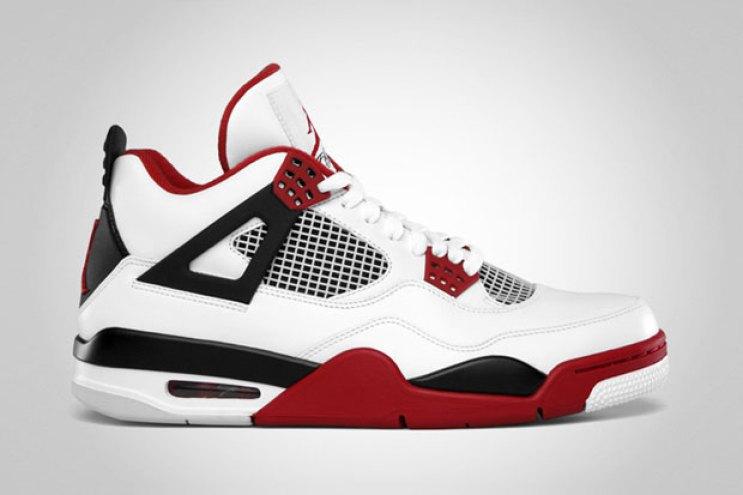 "Air Jordan 4  ""Fire Red"" Retro"